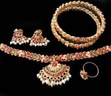 Buy Exquisite Traditional Navratna Stones Complete Set online