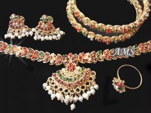 Buy Jewellery Navratna Stones Complete Set online