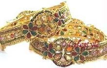 Buy Jewellery Ethnic Adjustable Kada Pair online