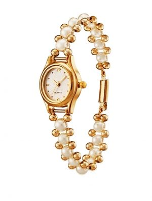 Buy Versatile Pearl Watch .... Perfect Rakhi Gift For Your Sister online