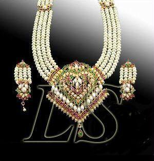 Buy Rakhi Gifts...exclusive Pure Pearls Rani Haar For Your Sister online