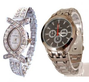 Buy Buy 1 Get 1 Free- Stylish Wrist Watches 14 online