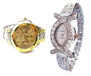 Buy Buy 1 Get 1 Free- Stylish Wrist Watches 21 online