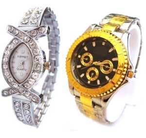 Buy Buy 1 Get 1 Free- Stylish Wrist Watches online