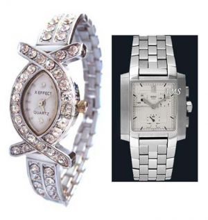 Buy Buy 1 Get 1 Free- Stylish Wrist Watches 50 online