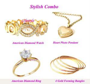 Buy Stylish Gold Plating Combo online