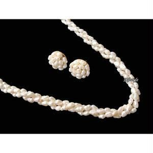 Buy Stylish Twisted Fresh Water Pearl Set online