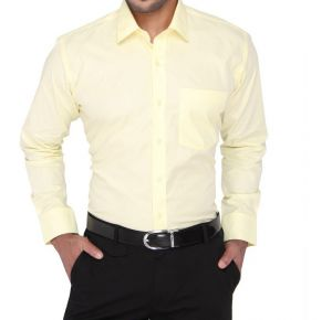 Buy The Very Trendy Yellow Shirt For Men online