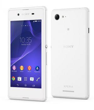 SONY SMARTPHONE Xperia E1 Dual Sim(White)