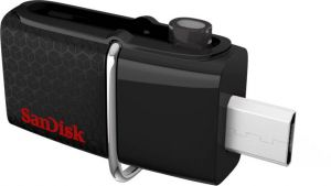 Buy Sandisk Sddd2-064g-i35/sddd2-064g-q46 64 GB Otg Drive (black, Type A To Micro Usb) online