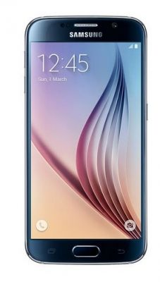 Buy Samsung Galaxy S6 Mobile - Black With Manufacturer Warranty online
