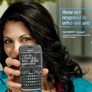 New Nokia E72 Mobile Phone