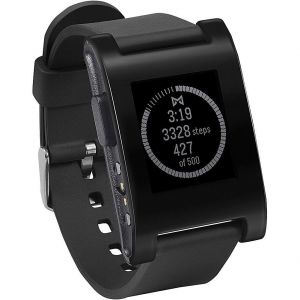 Buy Pebble Technology Corp Classic 301bl Smartwatch (black) online