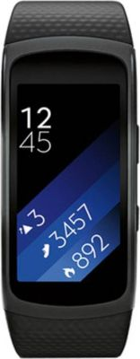 Buy Samsung Gear Fit 2 Black Smartband (black Strap L) online