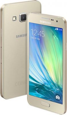 Buy Samsung Galaxy A3 Gold Mobile Phone online