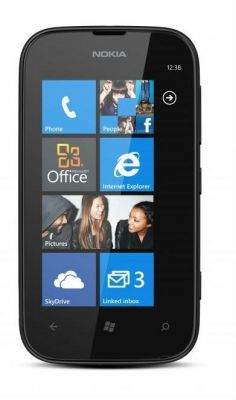 Nokia Lumia 510 - Mobile Phone (Black)