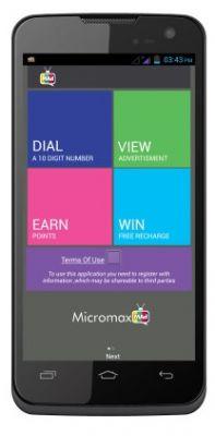 Micromax A119 Canvas XL Mobile Phone (White)