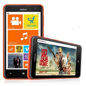 Nokia Lumia 625 Windows 8 Smart Phone Orange