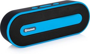 Buy Pebble Muze 6w Portable Bluetooth Mobile/tablet Speaker (blue, Stereo Channel) online