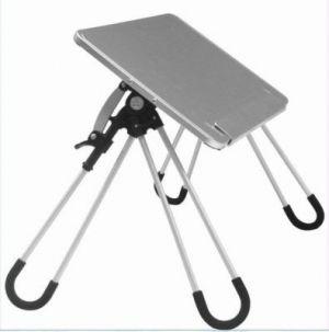 buy aluminium portable folding laptop table stand online best