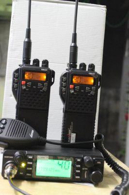 Npc Cb27v Cb27 Walkie Talkie With Base Unit Antenna