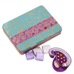 Buy Diwali Bhai Dooj Chocolate Hamper N Tikka online