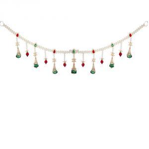 Buy Crystal And Pearl Toran Bandanwar Door Hanging online  sc 1 st  Rediff Shopping & Buy Crystal And Pearl Toran Bandanwar Door Hanging Online | Best ...