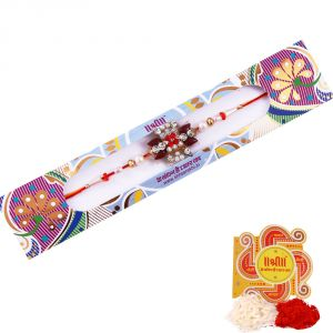 Buy Rakshabandhan Pearl N Stone Rakhi online