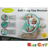 Buy Mastela Weeler Soft Snug Opp Bouncer - 6758 (sea Green) online