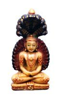 Buy Indian Handicrafts Company Carving Budha Beautiful Idols online