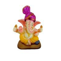Buy Shree Ganesha With Pagadi Statue By Returnfavors online