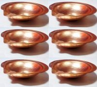 Buy Pure Copper Diya 2.5 Inches - Set Of 6 online