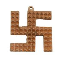 Buy Divya Swastik Pyramid In Copper Finishfor Good Luckdvym0000789 online