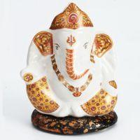 Buy Ghasitaram Gifts-multicolour Sitting Ganesha online