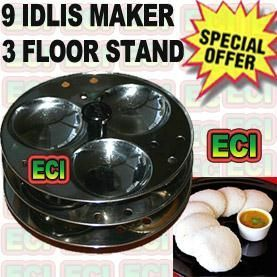 9 Idli Maker Stand Stainless Steel