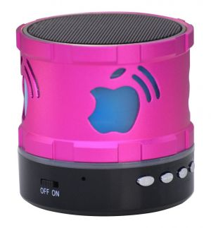 Buy Adcom Mini Bluetooth Speaker (s300)- Pink - With Manufacturer Warranty online