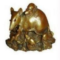 Buy Mongoose Feng Shui Wealth Good Luck Abundance online