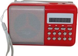 Buy Portable Rechargeable Onlite/obit FM Radio With Sd,usb Aux Player online