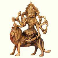 Buy Brass Goddess Durga Idol online