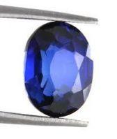 Buy Sobhagya Certified 9.02ct / 10 Ratti Blue Sapphire Rashi Gemstone online