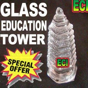 buy feng shui glass education pagoda tower online buy feng shui feng shui