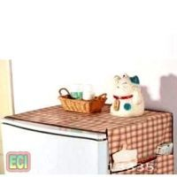 Buy Eci Premium Fridge Dust Cover Refrigerator Top Covering Sheet, Side Pockets online