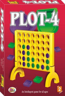 Buy Plot-4 Board Game Family Game online