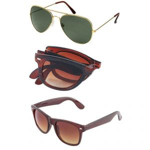 Buy V.s Aviator And Wayfarer Combo online
