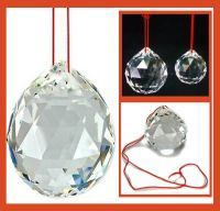 Buy 80 MM Crystal Balls For Fengshui / Car / Window online