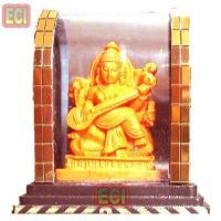 Buy Maa Saraswati Idol, Mata Saraswathi Murty In Case online