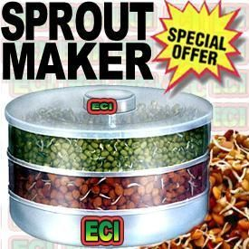 Buy 2 Level Sprout Maker For Hygienic Sprouts online
