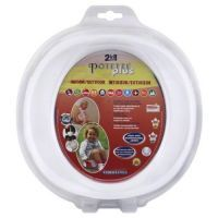 Buy White Potette Plus Port-a-potty Training Potty Travel Toilet Seat - 2 In 1 online