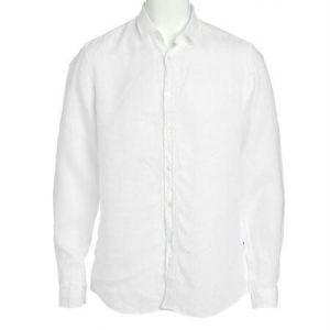 Buy Premium White Full Sleeve Linen Shirt For Gents Online | Best ...