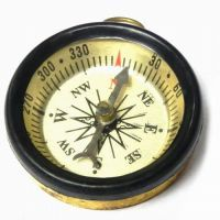 Buy Brass Finish Magnetic Compass, Very Useful In Fengshui And Vastu Shastra online